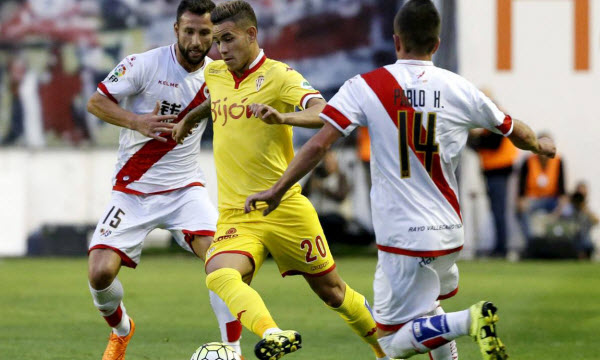 Bóng đá - Sporting de Gijon vs Rayo Vallecano 02h45, ngày 25/03