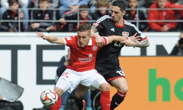 Bóng đá - Mainz 05 vs Bayer Leverkusen 20h30, ngày 24/09