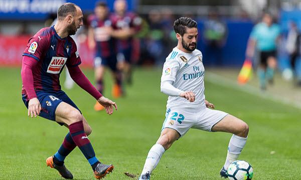 Bóng đá - Eibar vs Real Madrid 19h00 ngày 24/11