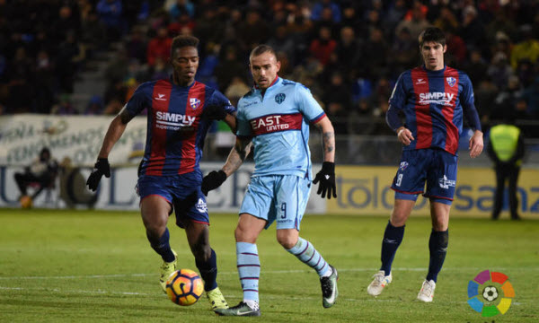 Bóng đá - SD Huesca vs Levante 00h30 ngày 25/11