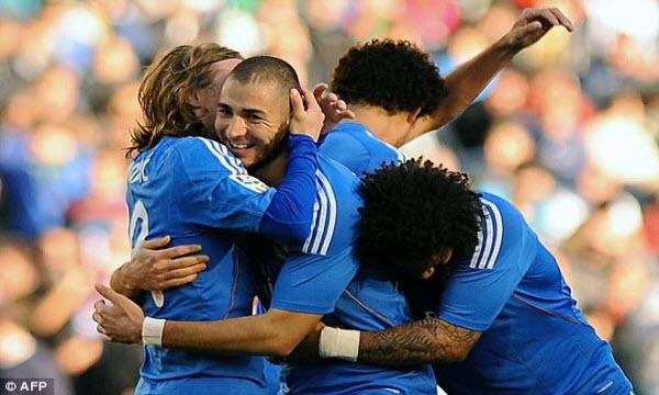 Bóng đá - Real Madrid vs Granada
