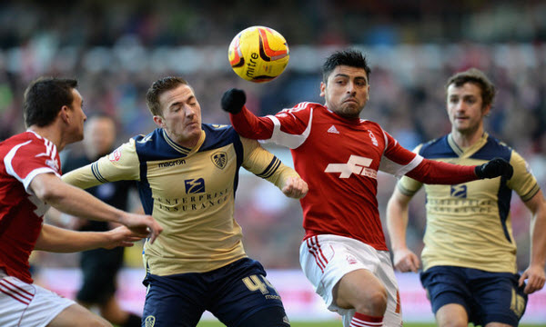 Bóng đá - Nottingham Forest vs Leeds United 01/01/2019 22h00