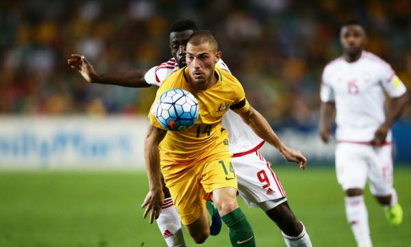 Bóng đá - United Arab Emirates vs Australia 22h59 ngày 25/01