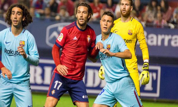 Bóng đá - Barcelona B vs Osasuna 22h59, ngày 25/03