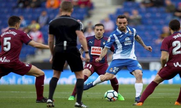 Bóng đá - Eibar vs Espanyol 22/01/2019 03h00