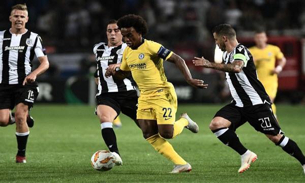 Bóng đá - Chelsea vs BATE Borisov 02h00 ngày 26/10
