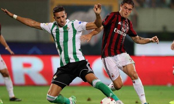 Bóng đá - AC Milan vs Real Betis 23h55 ngày 25/10