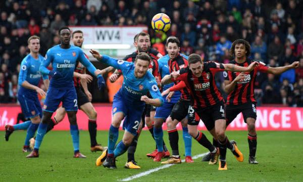 Bóng đá - Arsenal vs AFC Bournemouth 28/02/2019 02h45