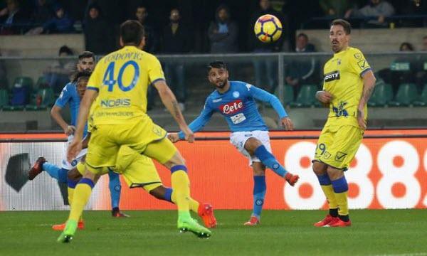 Dự đoán nhận định Chievo vs Napoli 23h00 ngày 14/04