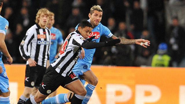 Bóng đá - Udinese 0-0 Napoli: Thành sự tại nhân