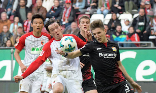 Bóng đá - Augsburg vs Bayer Leverkusen 01h30 ngày 27/04
