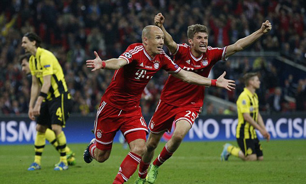 Borussia Dortmund 1-2 Bayern Munich (Highlights chung kết Champions League 2012-13)
