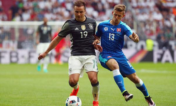 Bóng đá - Đức vs Slovakia 22h59, ngày 26/06