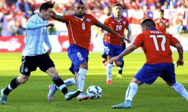 Nhận định dự đoán Argentina vs Chile 7h ngày 4/6
