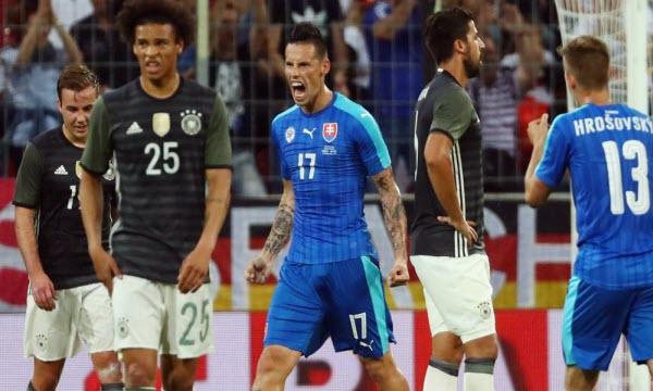Bóng đá - Thông tin trước trận: Đức vs Slovakia