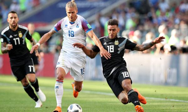 Bóng đá - Iceland vs Croatia 01h00, ngày 27/06