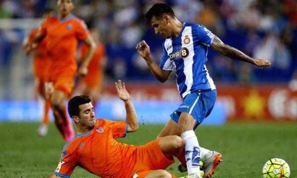 Bóng đá - Espanyol vs Valencia 23h15, ngày 26/08
