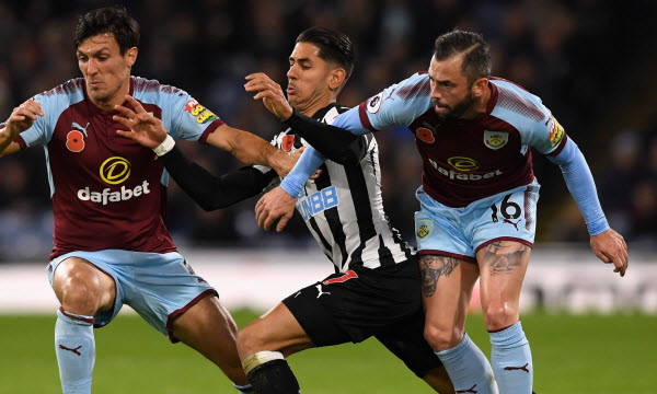 Bóng đá - Newcastle United vs Burnley 27/02/2019 03h00