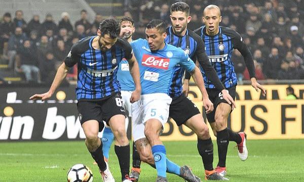 Thông tin trước trận Napoli vs Inter Milan