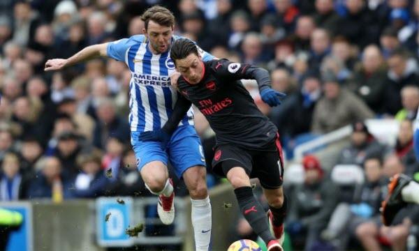 Bóng đá - Brighton & Hove Albion vs Arsenal 00h15 ngày 27/12