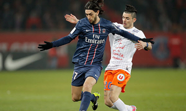 Bóng đá - Paris Saint Germain vs Montpellier 21/02/2019 03h00