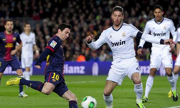 Barcelona 1-3 Real Madrid (Highlights bán kết lượt về, Cúp Nhà Vua TBN 2012-13)