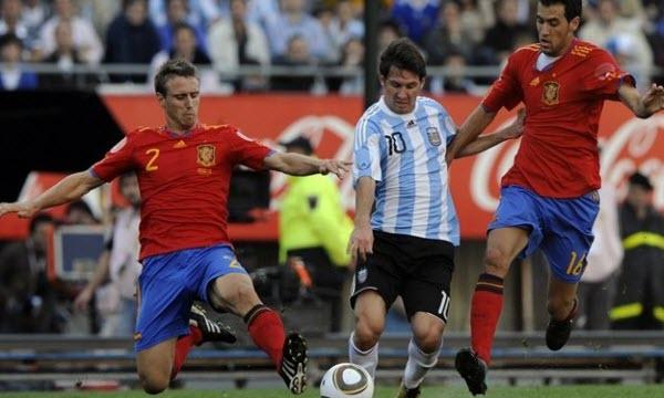 Bóng đá - Tây Ban Nha vs Argentina 02h30, ngày 28/03