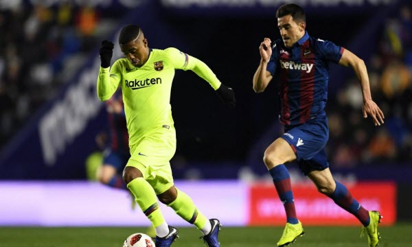 Bóng đá - Barcelona vs Levante 01h45 ngày 28/04