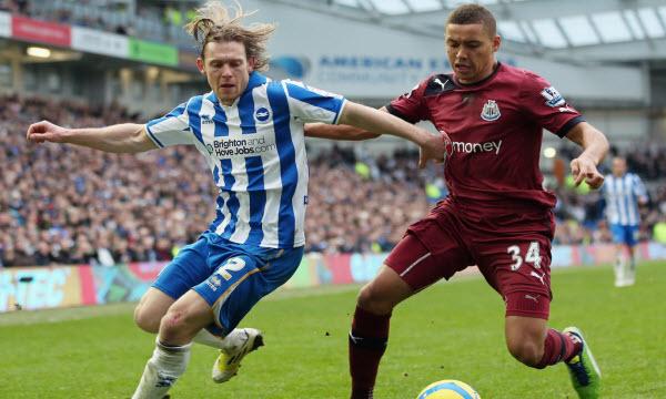 Bóng đá - Brighton & Hove Albion vs Newcastle United 23h30 ngày 27/04