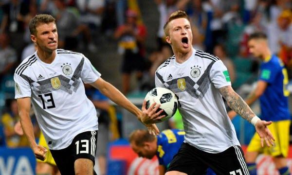 Bóng đá - Hàn Quốc vs Đức 21h00, ngày 27/06