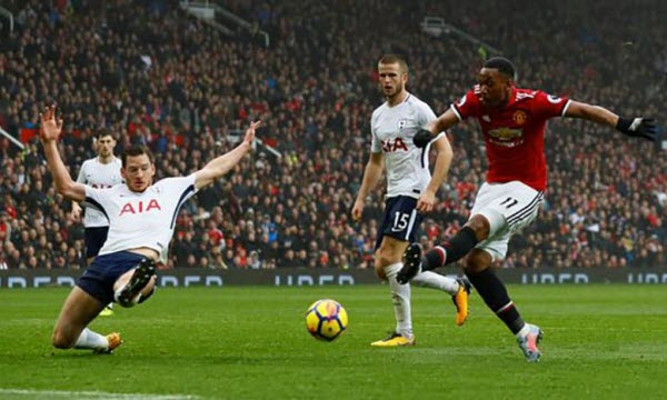 Bóng đá - Tottenham Hotspur vs Manchester United 13/01/2019 23h30