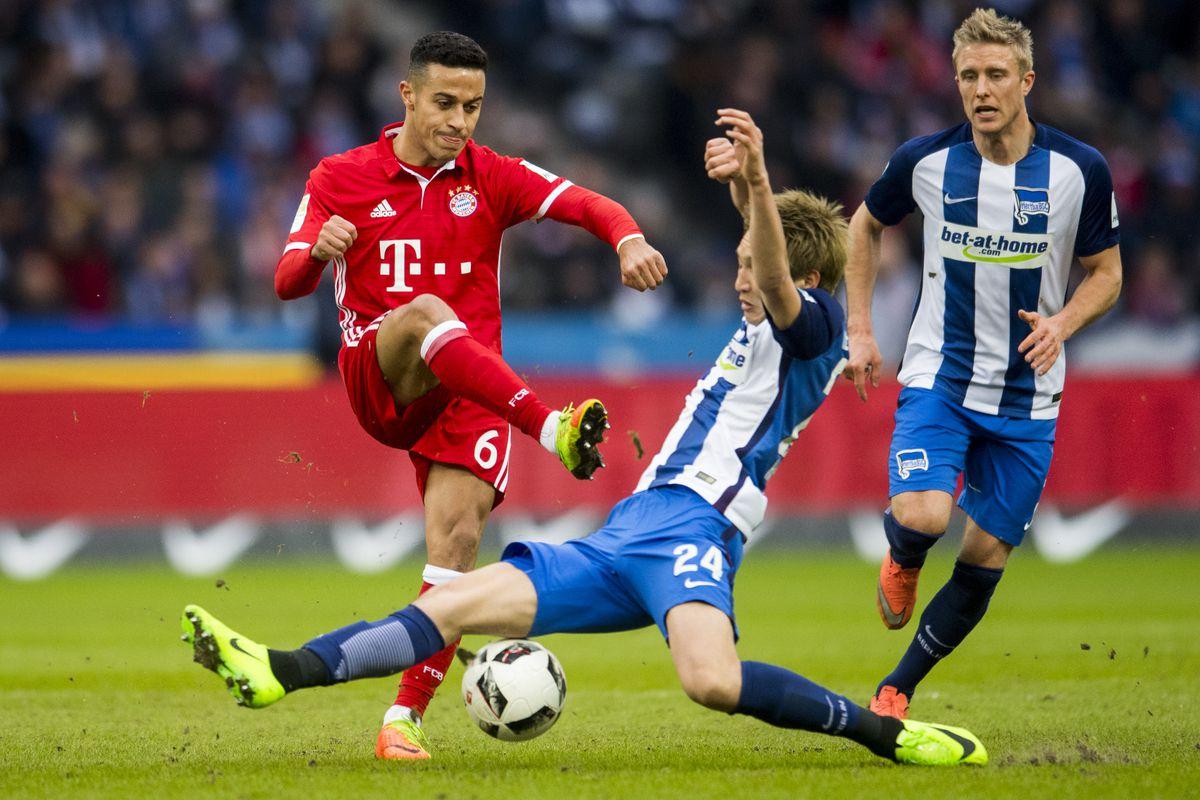 Bóng đá - Hertha Berlin vs Bayern Munich 01h30, ngày 29/09