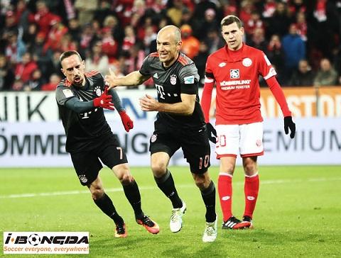 Bóng đá - Mainz 05 vs Bayern Munich 20h30 ngày 27/10
