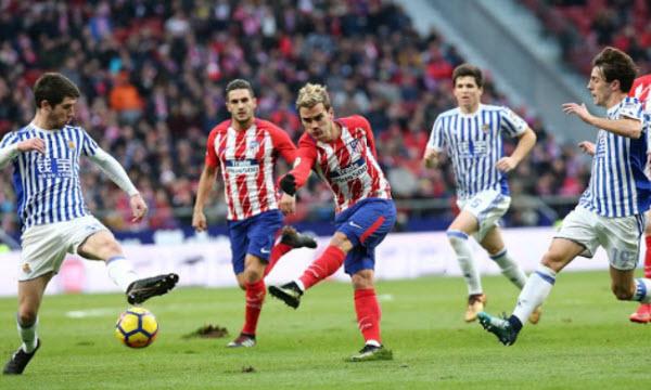 Bóng đá - Real Sociedad vs Atletico Madrid 04/03/2019 00h30