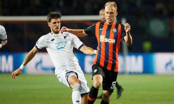 Bóng đá - Hoffenheim vs Shakhtar Donetsk 03h00 ngày 28/11