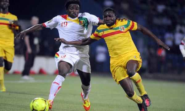 Mali vs Guinea 02h00 ngày 15/11