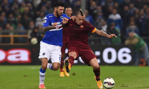 Bóng đá - AS Roma vs Sampdoria 02h45, ngày 29/01