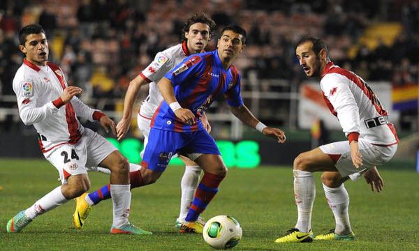 Bóng đá - Rayo Vallecano vs Levante 24/12/2018 00h30