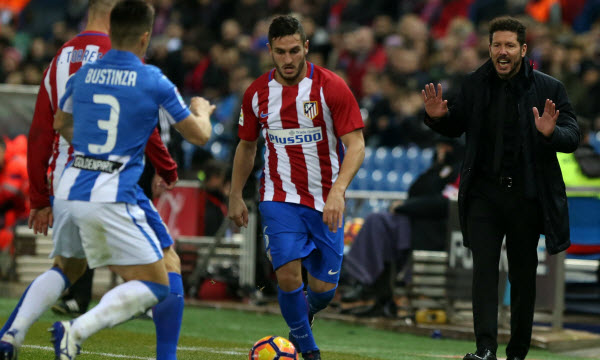 Bóng đá - Atletico Madrid vs Leganes 03h30, ngày 01/03