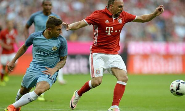 Bóng đá - Bayern Munich vs Manchester City 06h00, ngày 29/07
