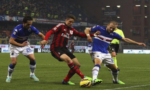 Dự đoán nhận định Sampdoria vs AC Milan 00h00 ngày 13/01