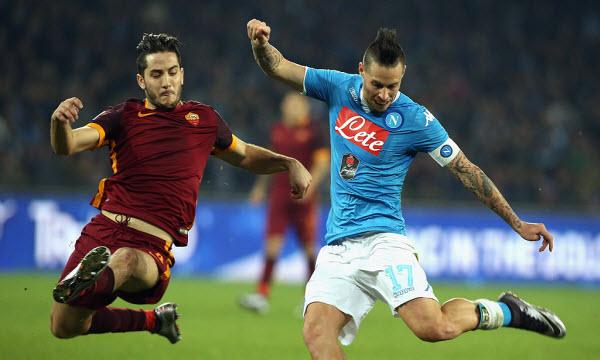 Bóng đá - Napoli vs AS Roma 02h30 ngày 29/10