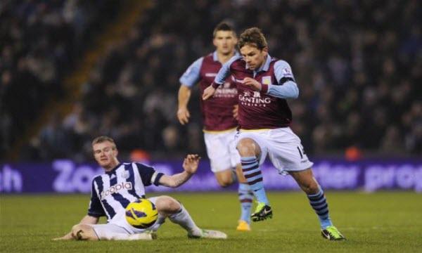 Bóng đá - Aston Villa vs West Bromwich: 02h45, ngày 30/01