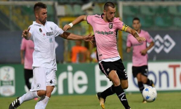 Bóng đá - Virtus Entella vs Palermo 01h30, ngày 30/03