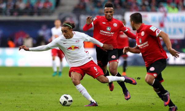 Bóng đá - RB Leipzig vs Mainz 05 21h30 ngày 16/12