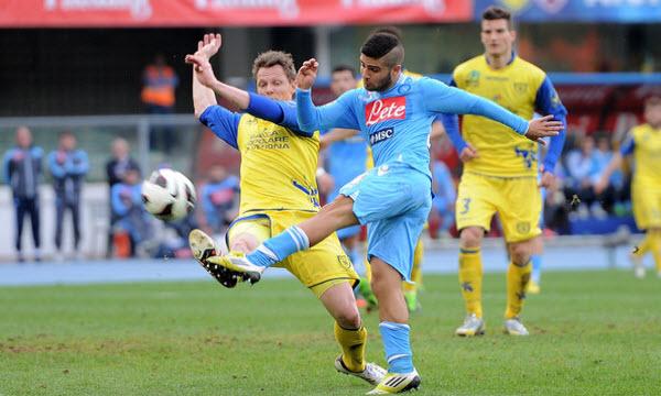 Bóng đá - Napoli vs Chievo 02h00, ngày 30/07