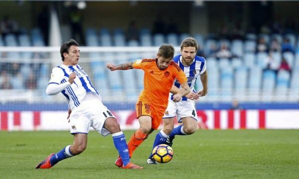 Bóng đá - Real Sociedad vs Valencia 18h00, ngày 29/09