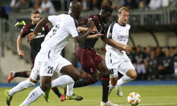 Bóng đá - AC Milan vs F91 Dudelange 00h55 ngày 30/11