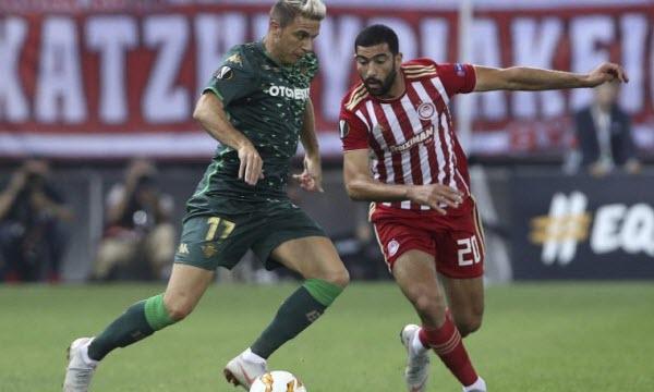 Bóng đá - Real Betis vs Olympiakos Piraeus 00h55 ngày 30/11