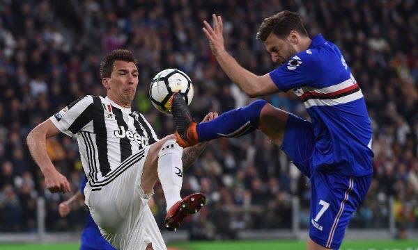 Thông tin trước trận Sampdoria vs Juventus